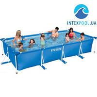 Каркасный бассейн Intex 28273 (58982). Сборный Small Frame 450 х 220 х 84 см