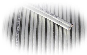 Кабель GOLDKABEL SILVER-FLEX прозрачный, поперечное сечение 2 x 1,5 qmm