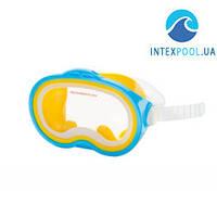 Маска для плавания Intex 55913, голубая, от 8 лет