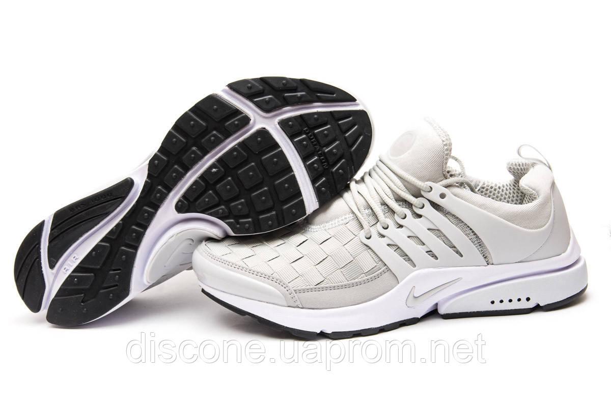 Кроссовки мужские 11063 ► Nike Air Presto, серые ✅Скидка 33% ► [ 44 ]