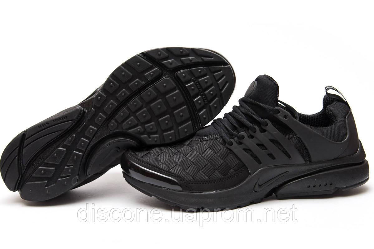 Кроссовки мужские ► Nike Air Presto, черные (11064), р. (нет на складе) П Р О Д А Н О! ✔ЧеРнАяПяТнИцА