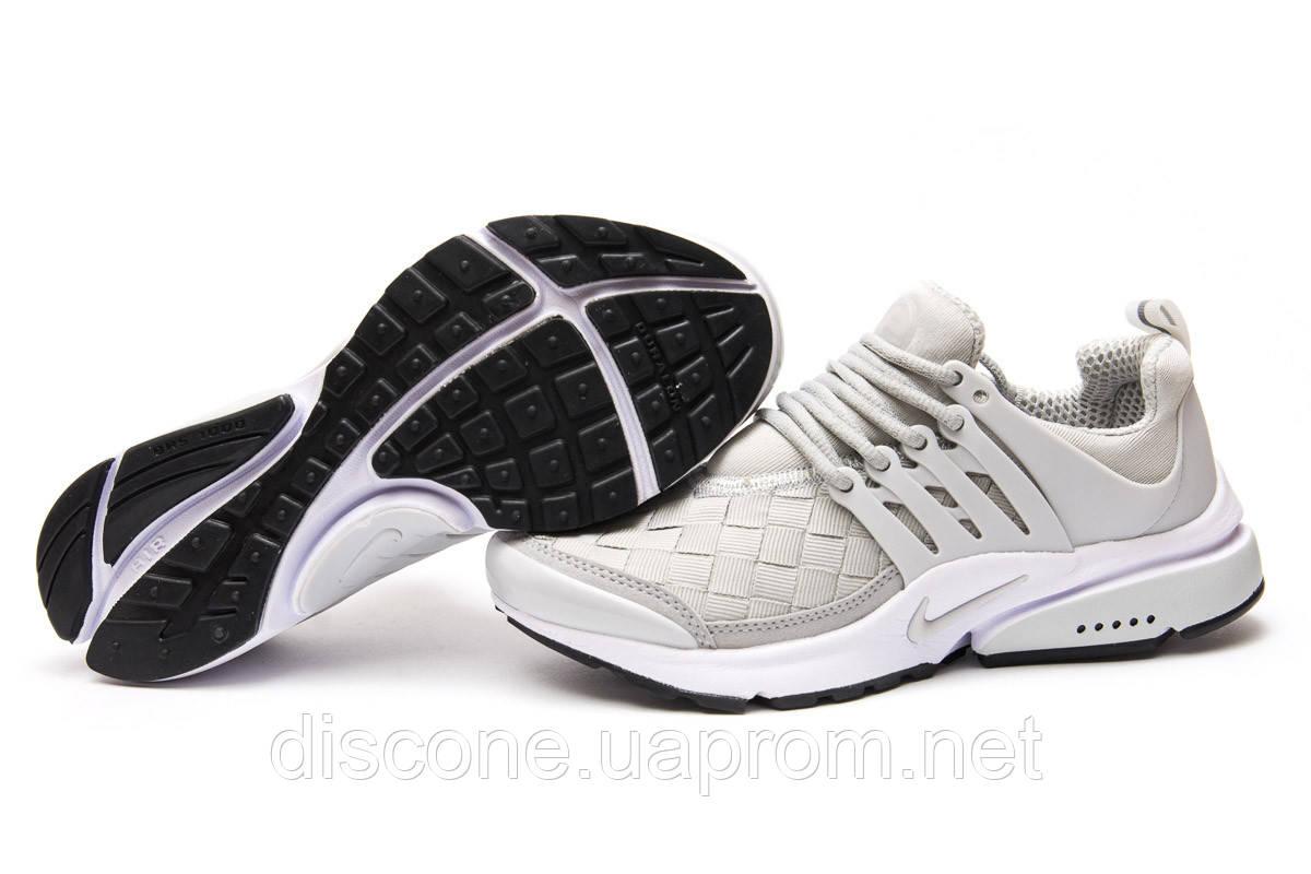 Кроссовки женские 11074 ► Nike Air Presto, серые ✅SALE! 38% ► [ 36 38 39 ]