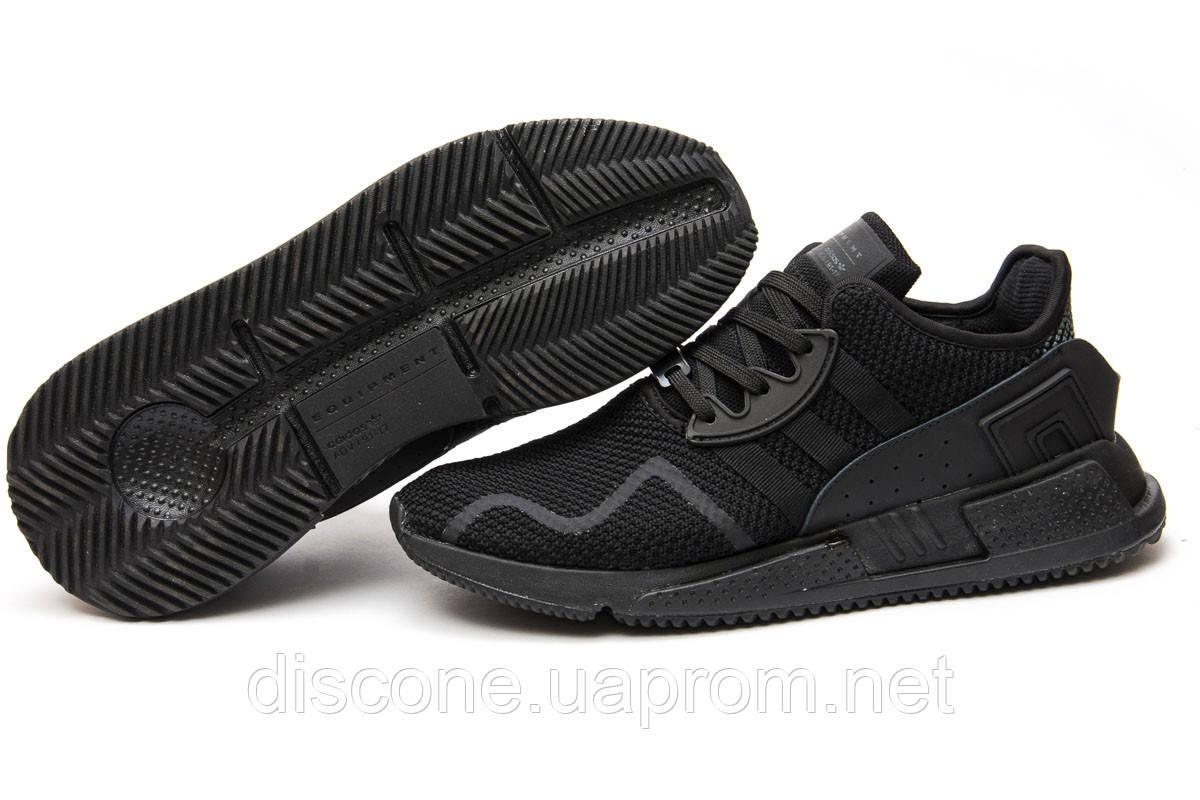 Кроссовки мужские 13702 ► Adidas EQT ADV 91, черные ✅Скидка 32% ► [ 44 ]