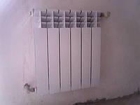 Монтаж и установка алюминиевых радиаторов