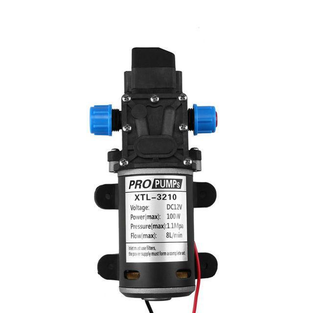 Насос мембранный высокого давления XTL-3210 12В, 100Вт