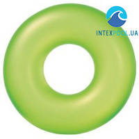Надувной круг для плавания Intex 59262, неон, 91 см