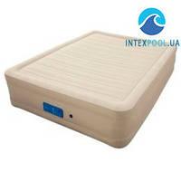 Надувная кровать Bestway 69032, 152 х 203 х 43 см, встроенный электронасос. Двухспальная