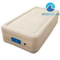Надувная кровать Bestway 69030, 97 х 191 х 43 см, встроенный электронасос. Односпальная