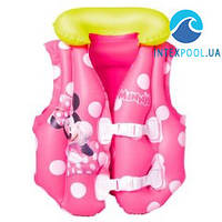 Детский надувной жилет Bestway 91070 «Minnie Mouse», 51 x 46 см