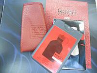 Мужской мини-парфюм в кожаном чехле Hugo Boss Hugo Red 20ml