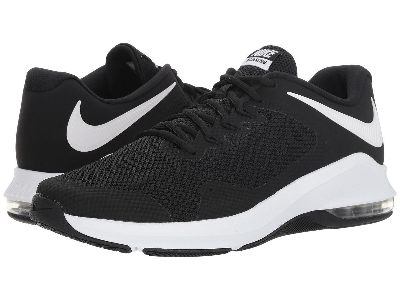 Кроссовки Кеды (Оригинал) Nike Air Max Alpha Trainer Black White ... 929792e386cc3