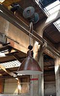 Дизайнерские светильники в индустриальном стиле.