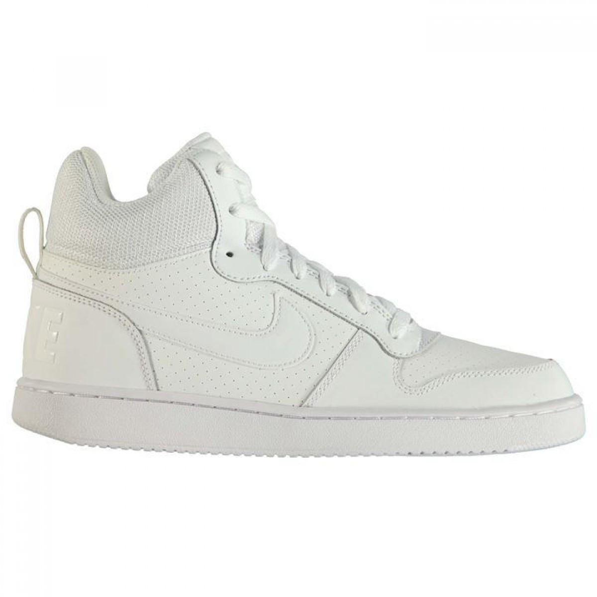 Кроссовки Nike Court Borough Mid Top White White - Оригинал — в Категории