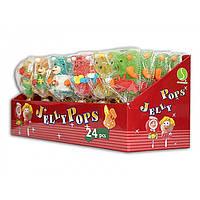 Жевательный мармелад на палочке Jelly Pops ассорти