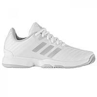 Кроссовки Adidas Barricade Court Tennis Ladies White Silver - Оригинал ae19bb1b54d73