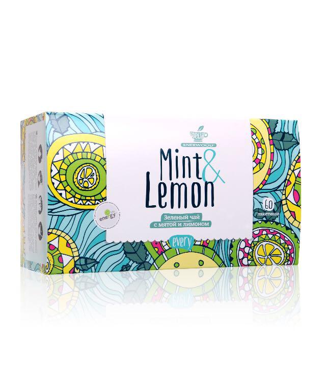 Every Mint&Lemon Зеленый чай с мятой и лимоном