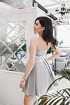 """Нежное коктейльное платье """"Анжелика"""" с кружевом и фатиновым подъюбником (3 цвета), фото 3"""