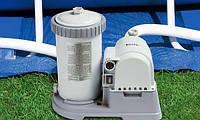 """Насос-фильтр """"Intex 28634 Filter Pump"""", Фильтрующий картриджный насос, Насос для фильтрации воды"""