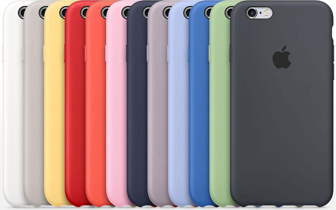 Чехол Silicone Case Apple iPhone 6, 6S ягодный йогурт