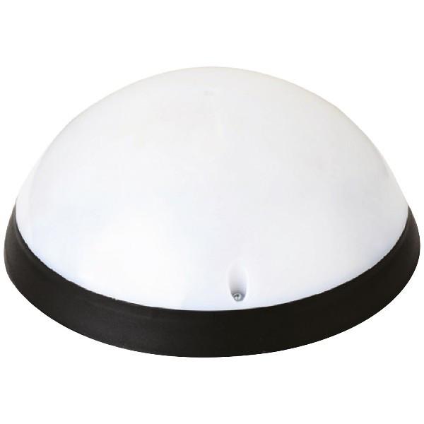 Светильник пластиковый влагозащищенный Акуа Полная Луна Опал черный