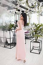 """Длинное нарядное платье без рукавов """"Богема"""" со стразами (3 цвета), фото 3"""
