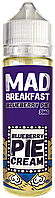 Mad Breakfast Blueberry Pie - 60 мл. VG/PG 70/30 0