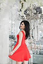 """Приталенное летнее платье без рукавов """"Мэрилин"""" с расклешенной юбкой (3 цвета), фото 2"""
