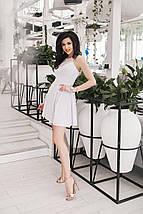 "Летнее платье без рукавов ""Bardot"" со складками на юбке (2 цвета), фото 2"