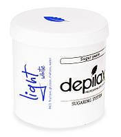 Белая сахарная паста Depilax White Light 1000г