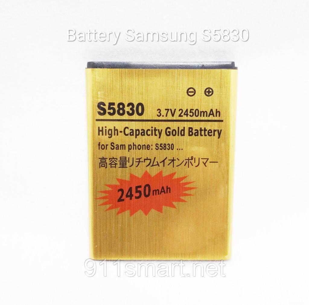 Усиленный аккумулятор Samsung Galaxy Ace / S5830 / EB494358VU Link Dream