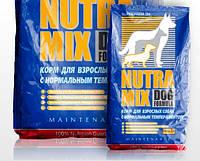 Nutra Mix Dog maintennance (синяя)корм для взрослых  охотничьих, выставочных собак 7.5кг