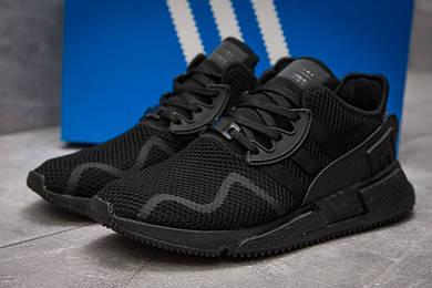 Кроссовки мужские в стиле Adidas EQT ADV 91, черные (13702),  [  44 45  ]