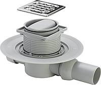 Трап Advantix для ванной, сухой затвор, горизонтальный D50 (583217)