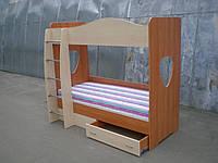 """Двухъярусная подростковая кровать """"Симба"""""""