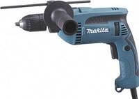 Дрель Makita HP1640 с ударом (680 Вт, реверс, ключевой патрон)