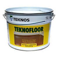 Полиуретановая краска  для пола Текнос Текнофлор, 2,7л, Б3