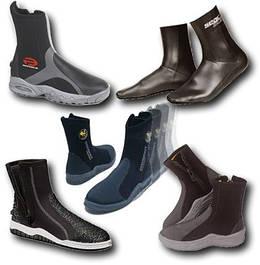 Неопреновые носки, перчатки, боты, тапочки