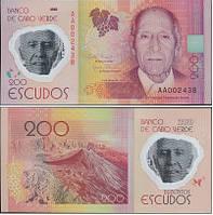 Кабо Верде  Cape Verde 200 Escudos 2014 UNC