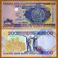 Вануату / Vanuatu 200 vatu (1995) Pick 8 UNC