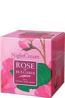 Крем для лица ночной с розовой водой Rose of Bulgaria Biofresh 50 мл
