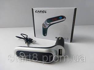 FM Модулятор для Авто CarG6 4 в 1, фото 3
