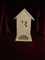 Коробка для хранения чайных пакетиков кленовый лист наклонный (10 х 10 х 23 см)