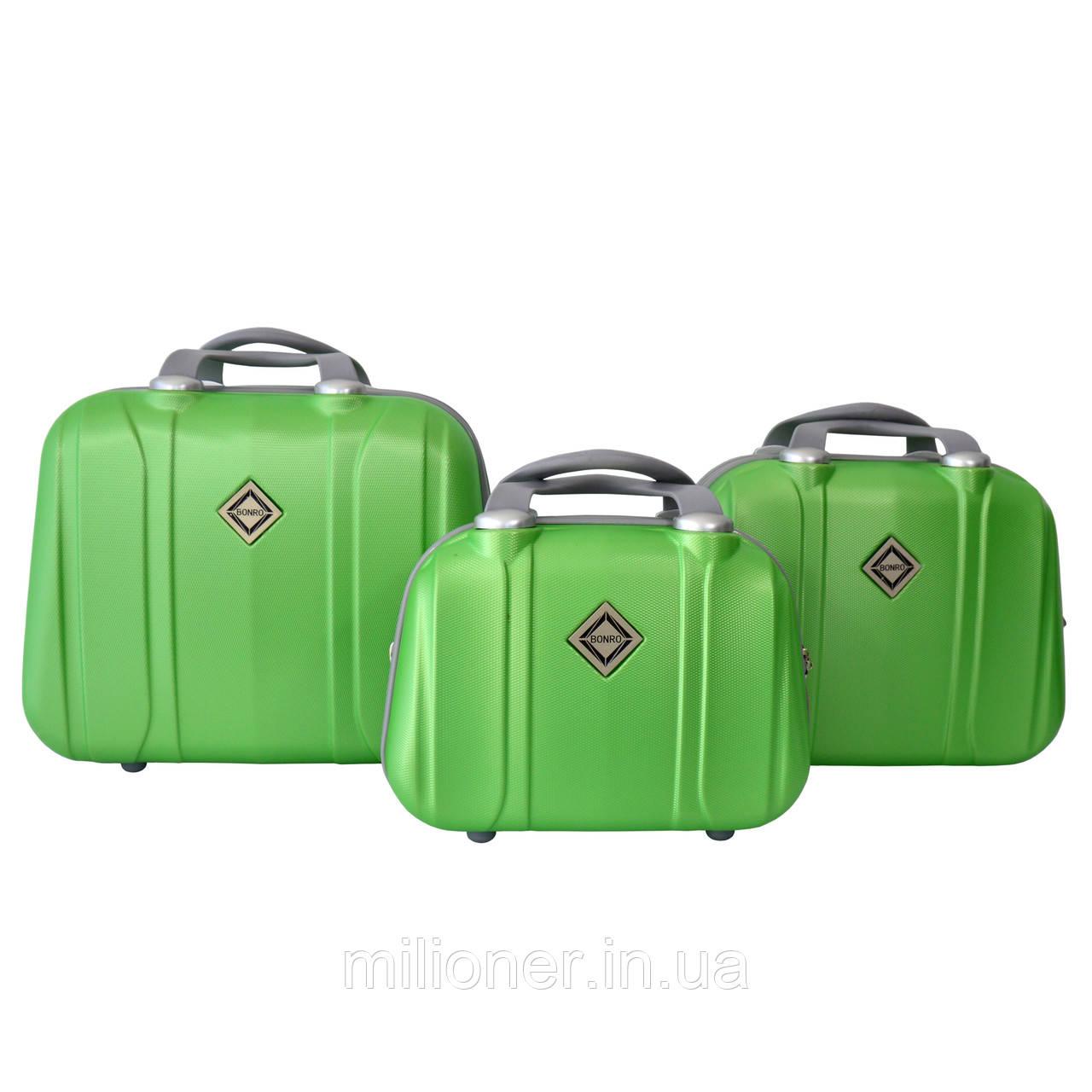Сумка кейс саквояж 3в1 Bonro Smile салатовый (green 696)