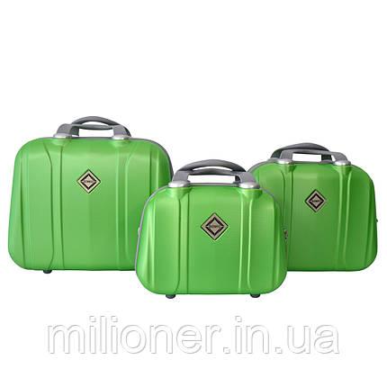 Сумка кейс саквояж 3в1 Bonro Smile салатовый (green 696), фото 2