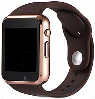 Cмарт часы телефон Smart Watch A1 (GT08) Золото, gold