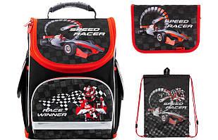 Набор школьный Kite(Рюкзак+сумка+пенал) Speed racer K18-500S-1