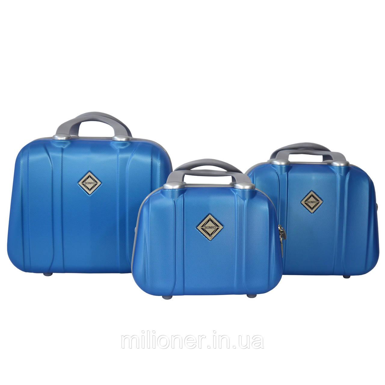 Сумка кейс саквояж 3в1 Bonro Smile светло синий (blue 656)