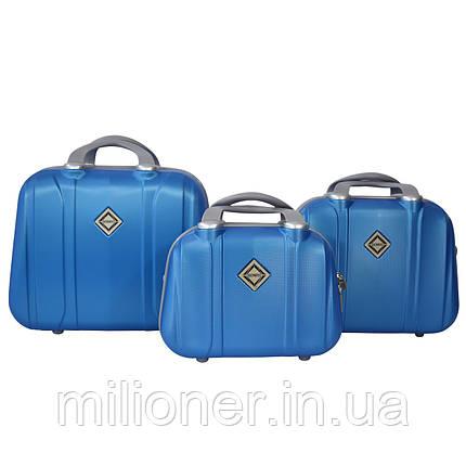 Сумка кейс саквояж 3в1 Bonro Smile светло синий (blue 656), фото 2