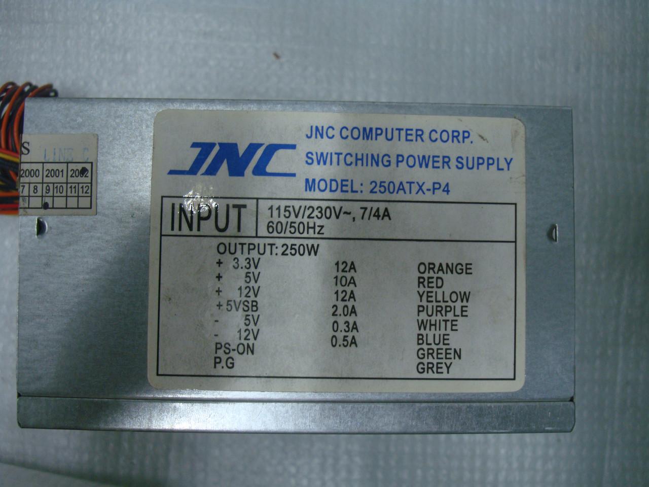 Блок питания INC 250ATX-P4 250W