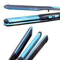 Утюжок для волос Gemei GM 1961, плойка 2 в 1 выравниватель волос с эффектом гофре